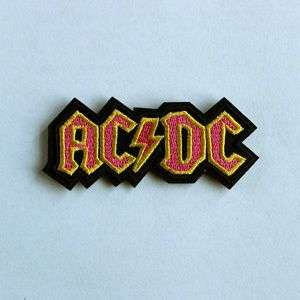 ACDC Iron On Patch